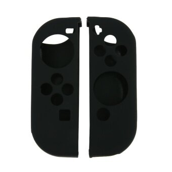 Anti-slip Silicone Cover Case for Nintendo Switch Joy-Con Control(Black) - intl