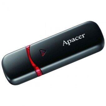 Apacer FLASH DRIVE 64 GB. AH333 BLACK