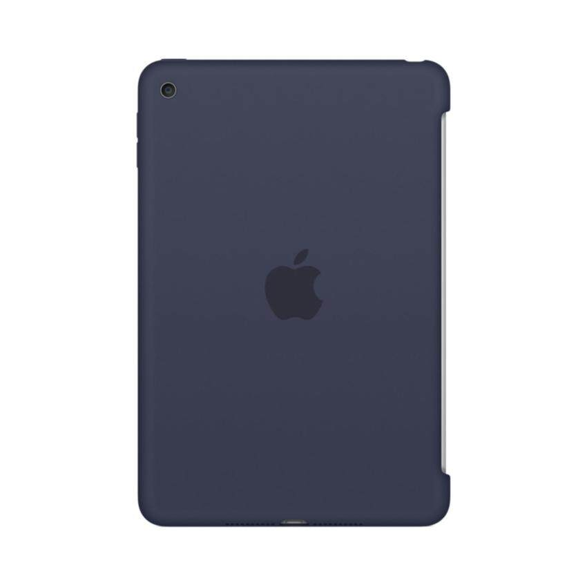 Apple Acc iPad mini 4 Silicone Back Case - Midnight Blue