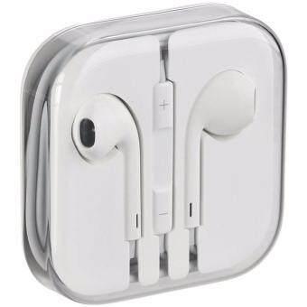 Apple Aiphone Corporation หูฟัง สำหรับไอโฟน iPhone / iPad / iPod iphone 4/4s/5/5s/5c สีขาว (White)