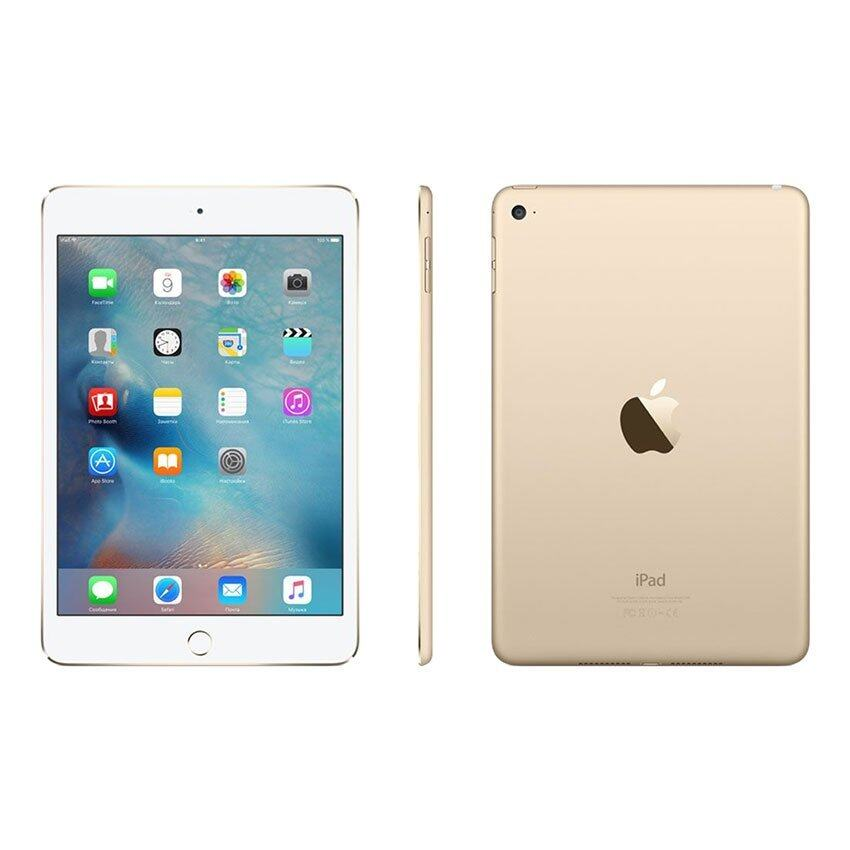 Apple iPad mini 4 Wi-Fi 16GB (Gold) ...