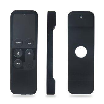 Apple TV เคสรีโมทสำหรับ Apple TV รุ่นที่ 4-สีดำ