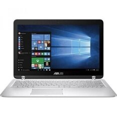 ASUS High Performance Premium 15.6-Inch 2-in-1 Touchscreen Full HD Laptop, (Intel Core i5-6200U, 12GB RAM, 1TB HDD, Backlit Keyboard, WIFI, HDMI, Bluetooth, Windows 10) Silver - intl