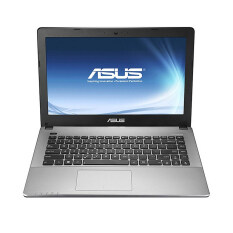 ASUS แล็ปท็อป รุ่น K455LA-WX724D/i3- 5005U 2GHz/4GB/500GB/DOS (สีดำ)