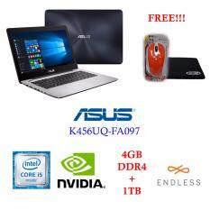 """Asus K456UQ-FA097[Matt Dark Blue] i5-7200U/4GB/1TB/GT 940MX 2GB/14.0"""" FHD/Endless"""