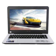"Asus Notebook รุ่น K455LA-WX611D 14""/i3-4005U/4GB/500GB/Dos (White)"
