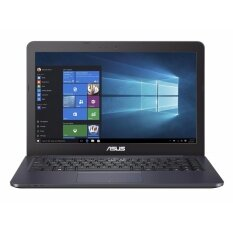 "ASUS VivoBook E402SA 14"" inch HD, Intel Celeron N3060 Processor, 32GB HDD, 4GB RAM, NO ODD, Win 10 (Dark Blue)"