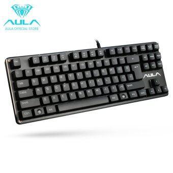 AULA เป็นทางการ F2012 ผ่านแป้นพิมพ์แป้นพิมพ์แบบเกมกล (สีดำ)