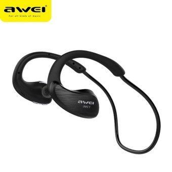 AWEI Bluetooth Sports Stereo Headset หูฟังบลูทูธ รุ่น A885BL (สีดำ)