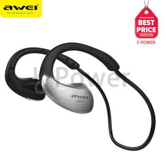 AWEI Wireless WaterProof Stereo Headset A885BL IPX4 Level (เงิน)