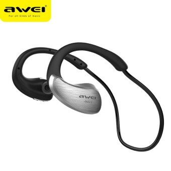 AWEI Wireless WaterProof Stereo Headset A885BL IPX4 Level (เงีน)