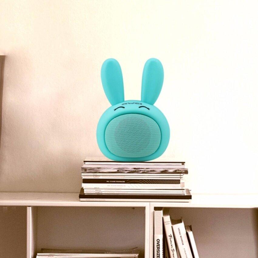 Awei Y700 ลำโพงบลูทูธ Mini Portable Bluetooth Speaker AUX Rabbit Lovely image