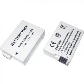 BATTERY LP-E8 แบตเตอรี่แคนนอน EOS 550D,600D,650D,700D Canon Battery