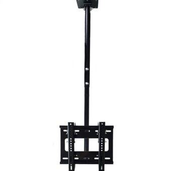 BDEE ชุดขาแขวนทีวี LCD, LED ขนาด 19-32 นิ้ว รุ่น C1 (แบบติดเพดาน, ปรับก้มได้, หมุนได้) (Black)
