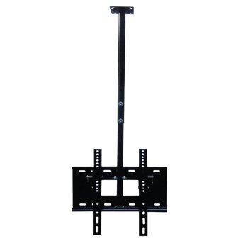 BDEE ชุดขาแขวนทีวี LCD, LED ขนาด 32-42 นิ้ว รุ่น C2 (แบบติดเพดาน, ปรับก้มได้, หมุนได้) (Black)
