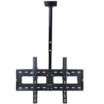 BDEE ชุดขาแขวนทีวี LCD, LED ขนาด 42-60 นิ้ว รุ่น C3 (แบบติดเพดาน, ปรับก้มได้, หมุนได้) (Black)