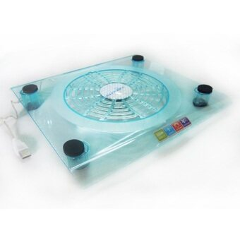 Big Fans Laptop Cooling/Usb Notebook Cooling Pad With LED Lights - Intl