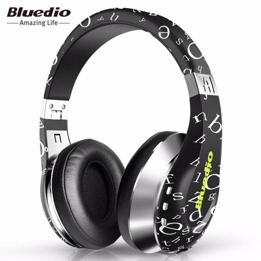 ขาย Black Bluedio A (Air) Stylish Wireless Bluetooth Headphones with Mic - intl