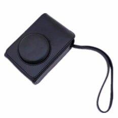 Black Camera Pu Leather Case Cover Bag For Fuji Xq2 (intl) - Intl ราคา 461 บาท(-30%)