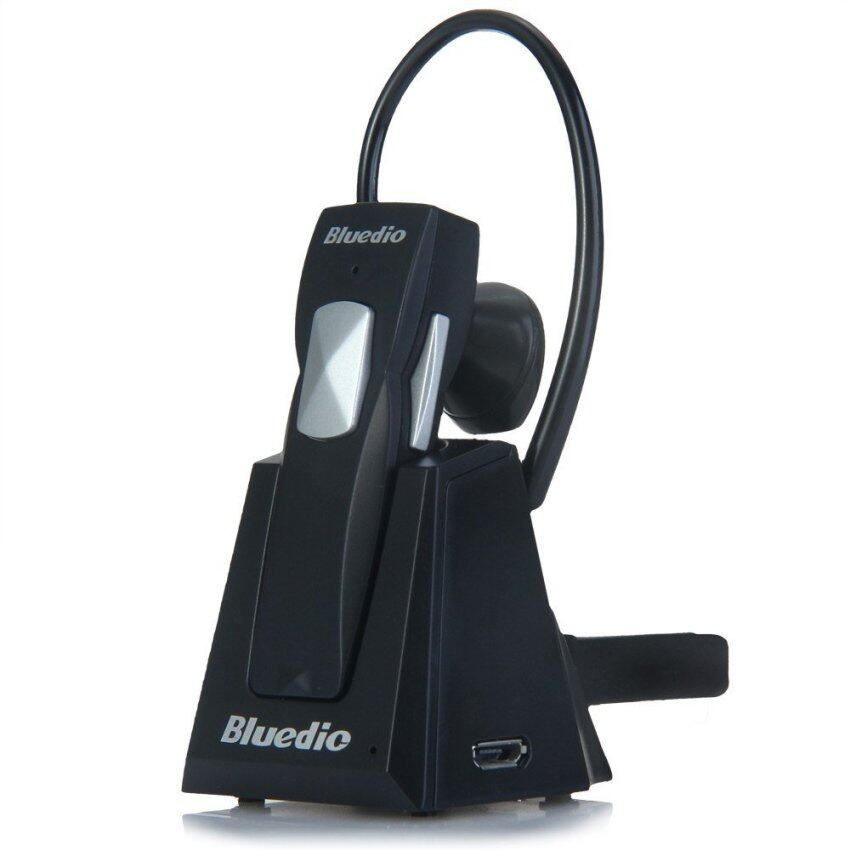 Bluedio 99A Bluetooth 4.0 Multipoint Pairing Wireless Headset Stereo Headphone with Portable Charging Dock (BLACK)
