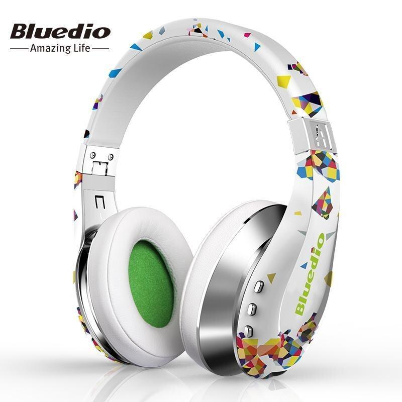 ขาย Bluedio A (Air) Fashionable Wireless Bluetooth Headphones with Microphone, HD Diaphragm, Twistable Headband, 3D Surround Sound - intl