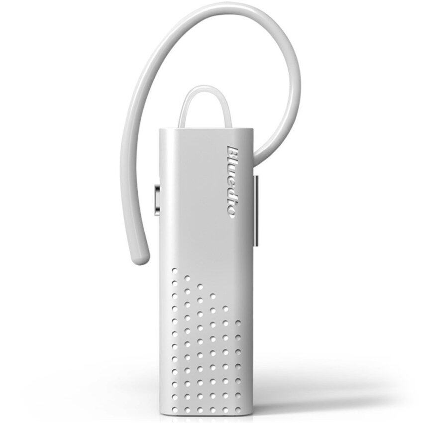 Bluedio DF7 Bluetooth V4.1 Wireless Headset Multiple Connection for Smartphone Tablet PC (White) (Intl)