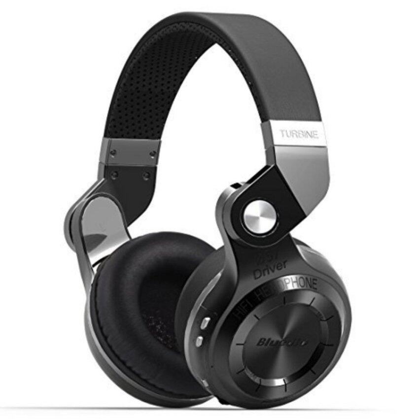 Bluedio Hurricane T2 Turbine Bluetooth 4.1 Wireless Stereo Headphones Headset - intl