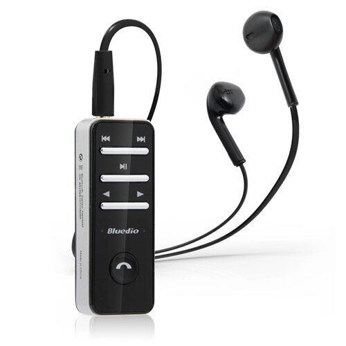 Bluedio หูฟังบูลทูชไร้สาย I4 Bluetooth small talk (สีดำ)
