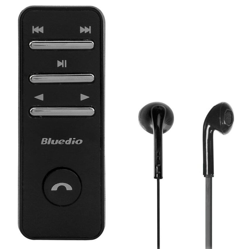 Bluedio หูฟังเพลงสเตอริโอ ไร้สาย I4 Bluetooth small talk (สีดำ)