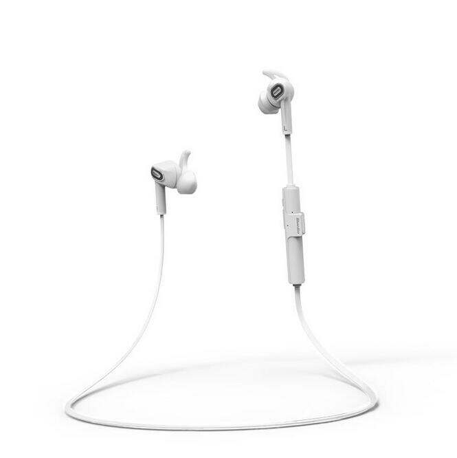 Bluedio M2 In-ear Wireless Bluetooth 4.1 Headset Stereo Earphone Sport Headphones Music and Calls(White) - intl