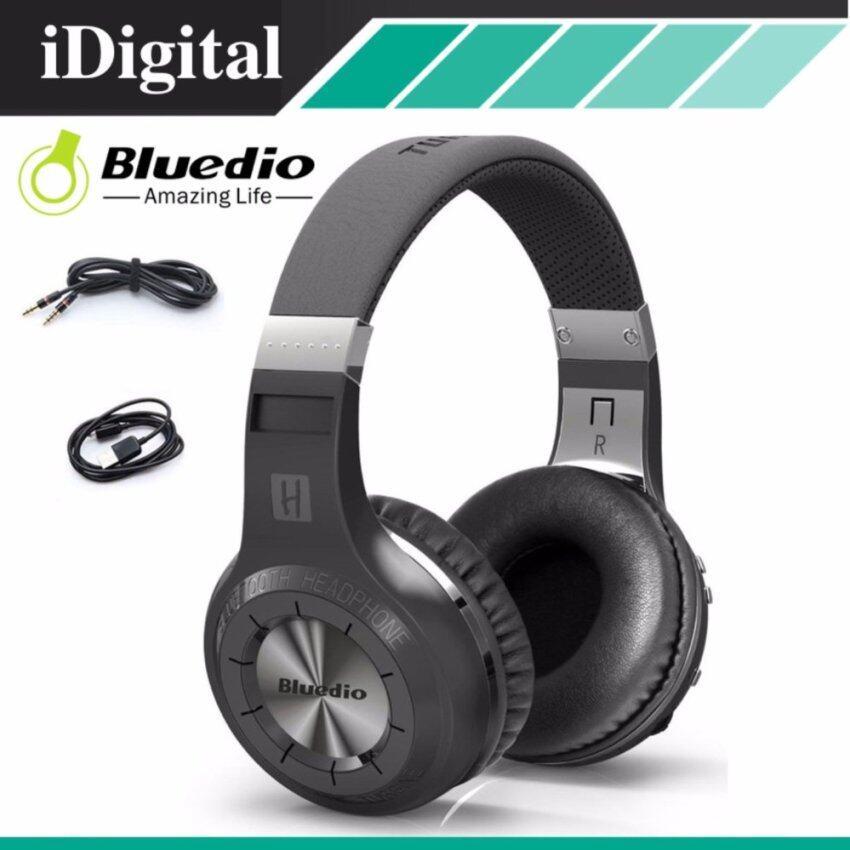 Bluedio หูฟังบลูทูธ Super BASS แบตเตอรี่ 40 ชม. Bluetooth V4.1 Headphone รุ่ง HT(สีดำ)