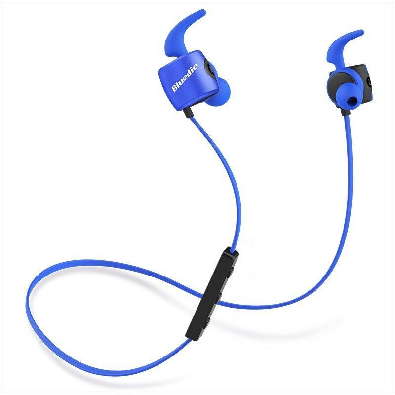 Bluedio TE Sports Bluetooth headset/Wireless headphone in-ear earbuds Built-in Mic Sweat proof earphone - intl