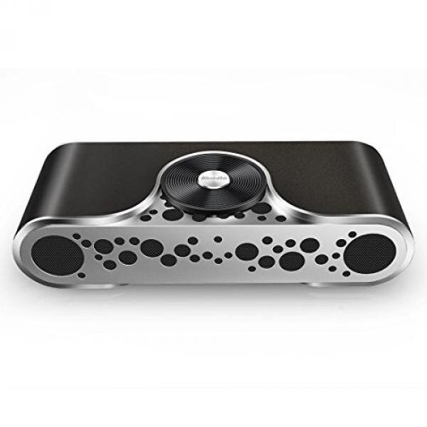 Bluedio TS-3(Turbine) 2.1 Channel Wireless Bluetooth Speaker with Micro SD Card Slot(Black) - intl