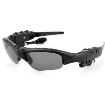 ประเทศไทย แว่นกันแดด Bluetooth (Black)