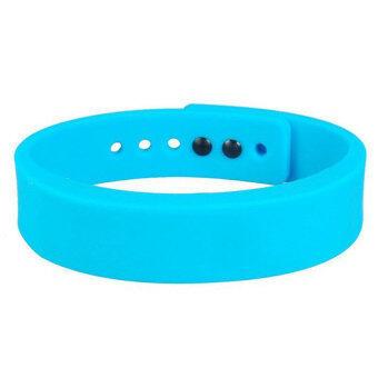 Bluetooth Bracelet i7 Cyband Smartband Bluetooth 4.0 Blue - intl