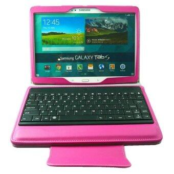 Bluetooth Keyboard Cover Case stand for Samsung Galaxy Tab S 10.5 SM-T800/SM-T805,pink