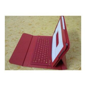 Bluetooth Keyboard for Sansung N8000/P7500/P7510/P5100 universal keyboard with holster( Red)