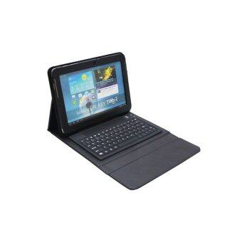 Bluetooth Keyboard for Sansung N8000/P7500/P7510/P5100 universal keyboard with holster(Black)