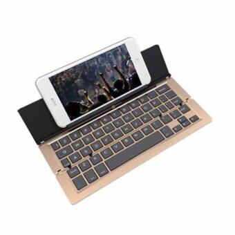 Bluetooth Keyboards F18 GOLD Wireless Keyboard Bluetooth For Windows For Android For iOS