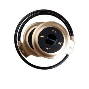 หูฟัง ไร้สาย Bluetooth Stereo Headset mini รุ่น 503 (สีทอง)