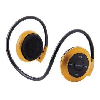 หูฟัง ไร้สาย Bluetooth Stereo Headset mini รุ่น 503 (สีทอง) Wealth