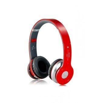 2561 หูฟังBluetooth Stereo รุ่น s450 (สีแดง)