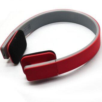 Bluetooth Wireless Stereo Headphones, Bluetooth Headsets,Red - intl