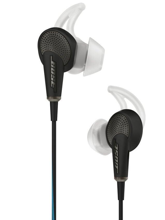 BOSE หูฟังตัดเสียงรบกวนแบบเสียบหู สำหรับอุปกรณ์ iOS รุ่น QuietComfort 20 - สี White