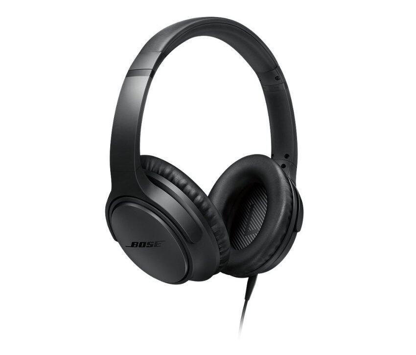 BOSE หูฟังแบบครอบหู สำหรับอุปกรณ์ iOS รุ่น SoundTrue Around-Ear II - สี Charcoal Black