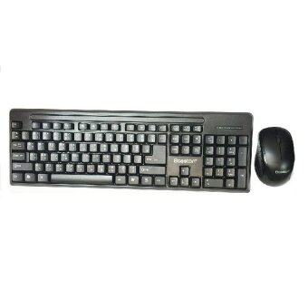 BOSSTON Wireless Keyboard Mouse รุ่น Q1905