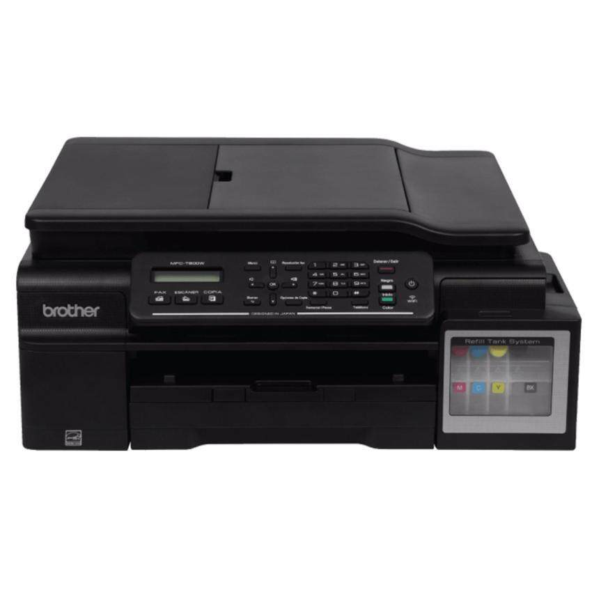 BROTHER PRINTER ALL -IN- ONE-FAX (INK JET) PRINTER BROTHER MFC-T800W INKJET ALL-IN-ONE