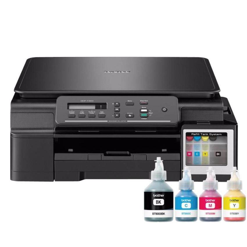 Brother ปริ้นเตอร์ PRINTER Brother DCP-T300 All in One มีหมึกพร้อมใช้งาน