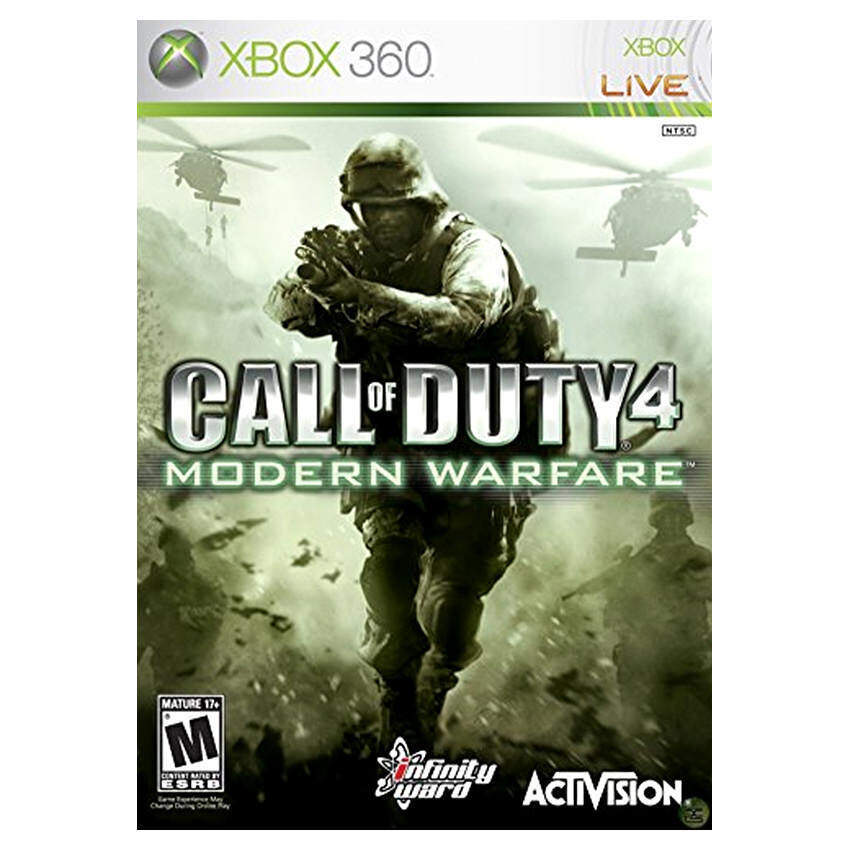 Call of Duty 4: Modern Warfare - Xbox 360 (Intl)