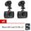 Camera good it FHD Car Camerasกล้องติดรถยนต์ รุ่นG30Cแพ็คคู่(Black)ฟรีMemory Card 32 GB